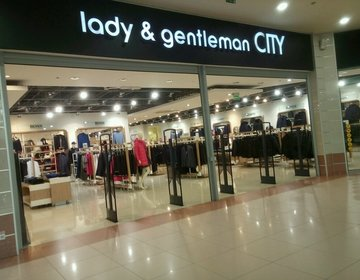 Магазин одежды lady & gentleman CITY в Тюмени